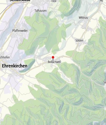 Karte / Bollschweil - Schloß Bollschweil