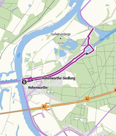 Karte / Kleine Schleusentour