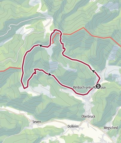 Map / Circuit Lacs des Perches et du Neuweiher