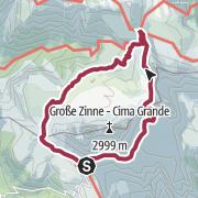 Cartina 3 Cime Di Lavaredo.Circuito Estivo Tre Cime Di Lavaredo Escursione Outdooractive Com