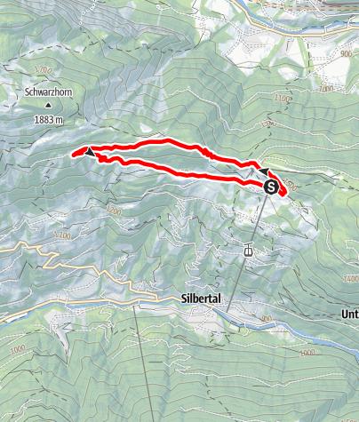 Karte / Fulateia-Schleife