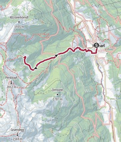 Karte / Kurzeggalm (ehemalige Kinglhubalm)