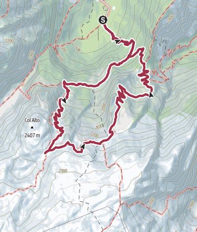 Map / Col Alto e Marucol