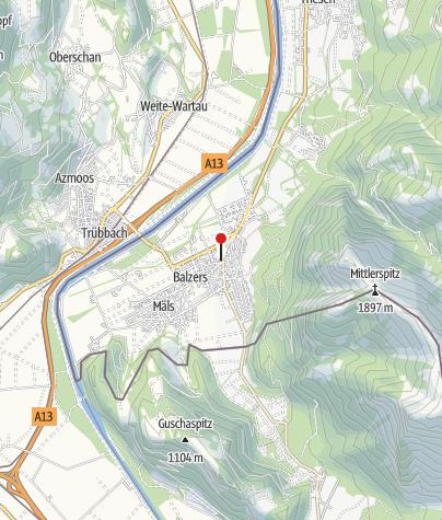 Karte / Alter Pfarrhof