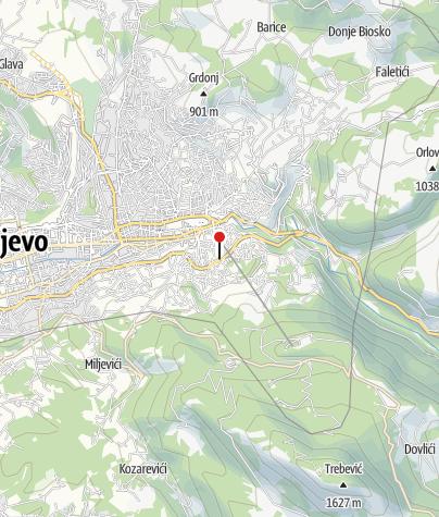 Map / Guesthouse Bistrik