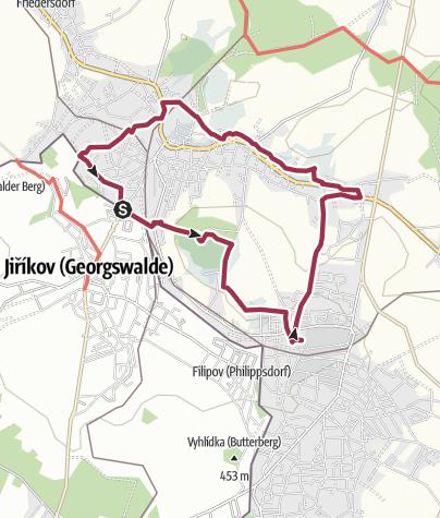 Map / Ebersbacher Rundweg