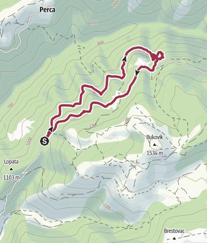 Map / Skakavac roundtour