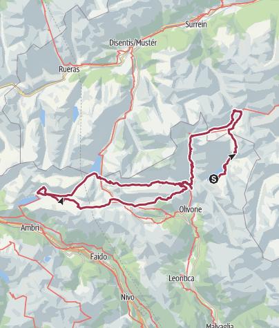 Carte / Tour Tessin