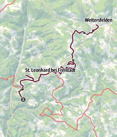 Map / Johannesweg, Stiftung - Weitersfelden
