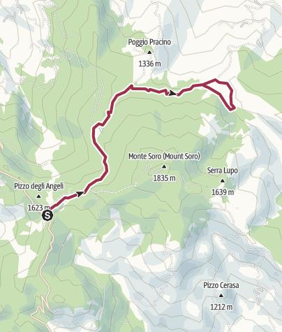 Karte / Biviere di Cesaro