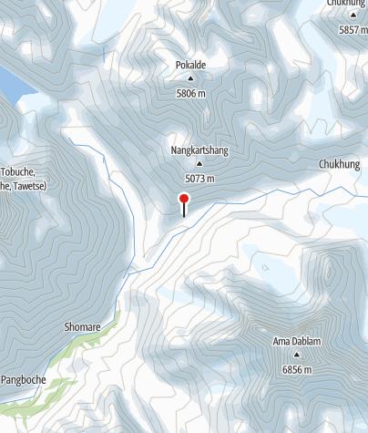 Karte / Dingboche 4.350m