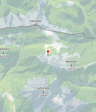 Karte / Raetische Inschriften am Schneidjoch