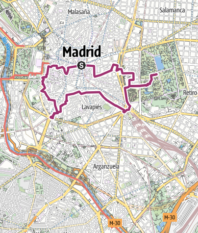 Mapa /  Madrid Sightseeing Tour