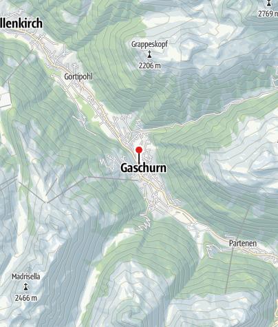 Karte / L14: Mühle, Gaschurn