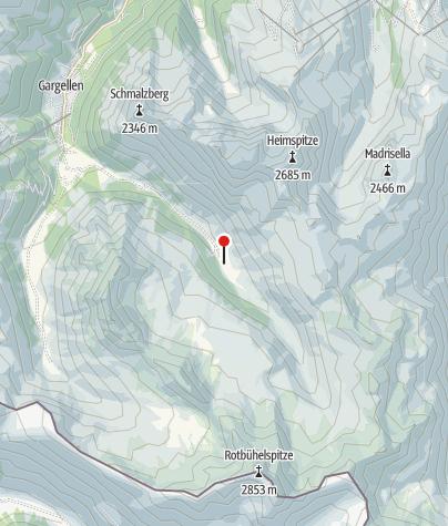Karte / L18: Vergaldaalpe, Gargellen