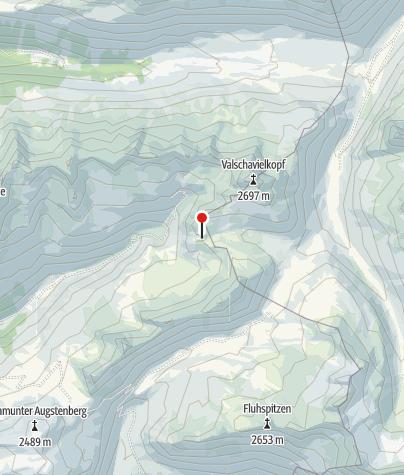 Karte / Kessisee beim Gaschurner Winterjöchle