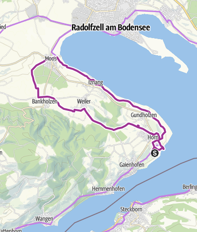 Map / Radishes, onions and lettuce – Gourmet bike trip across the Höri peninsula.