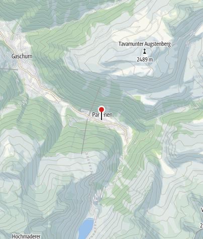 Karte / Pfarrkirche Hl. Martin Partenen