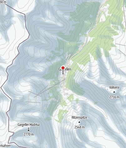 Karte / Kirche Gargellen