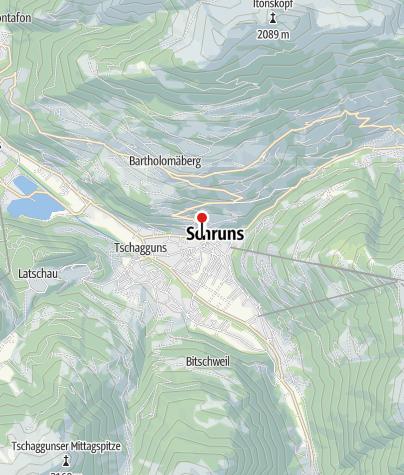 Karte / Litzkapelle Schruns