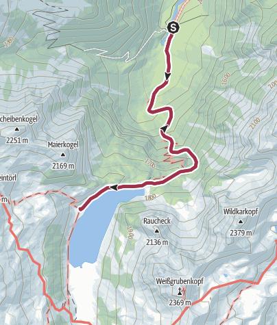 Karte / Tappenkarsee - einer der schönsten Plätze unserer Region