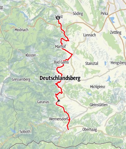 Karte / Schilcherweinstraße