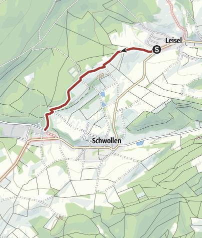 Hunsrück Hochwald Karte.Götterallee Am Nationalpark Hunsrück Hochwald Themenweg