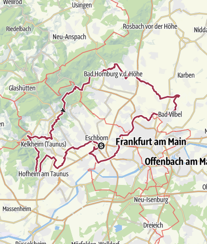 Map / Megamarsch Frankfurt 2020-final