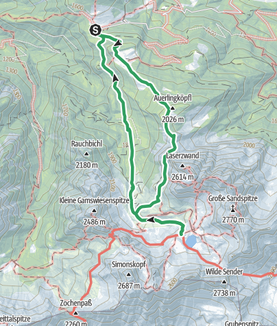 Karte / Piccola Ferrata
