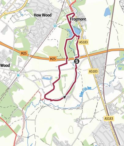 Map / Ver Valley Walk 8 - The Confluence Walk