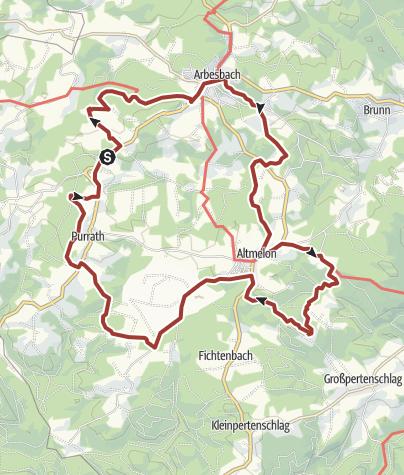 Karte / Kleiner Bärentrail