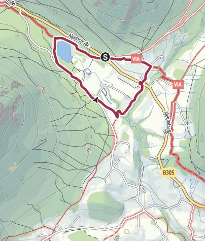 Karte / Rund um den Taubensee