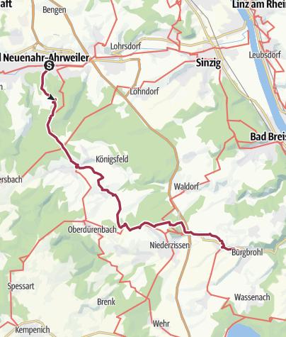 Mappa / Bad Neuenahr-Burgbrohl