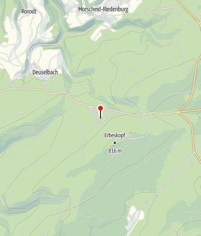Karte / Nationalpark - Rangertreffpunkt Hunsrückhaus am Erbeskopf