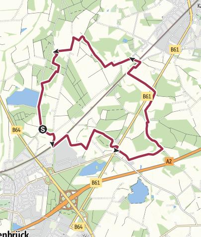 Karte / B+H-2020-10-15: Lintel und Nordrheda
