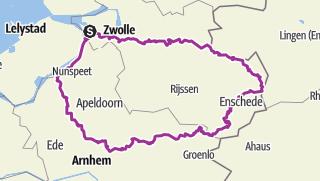 Map / The Bro's 2 - Bike Holiday