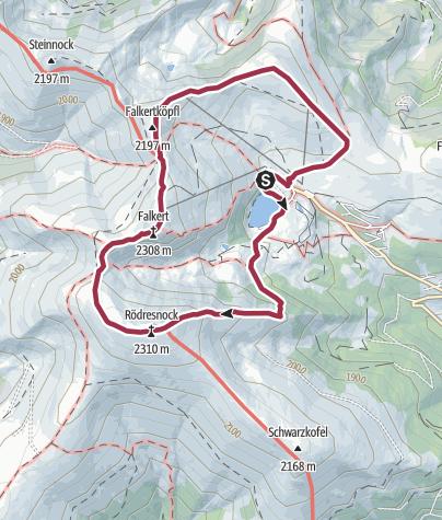 Map / Jagasteig - Steig um Steig auf den Falkert