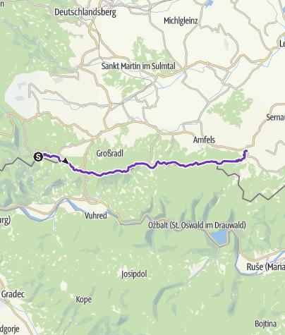 Karte / Südsteirischer Grenztrail