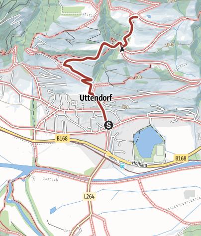 Map / Uttendorf/Weißsee: Schmetterlingslehrweg