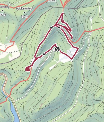Map / A la découverte des châteaux vosgiens (Lembach)