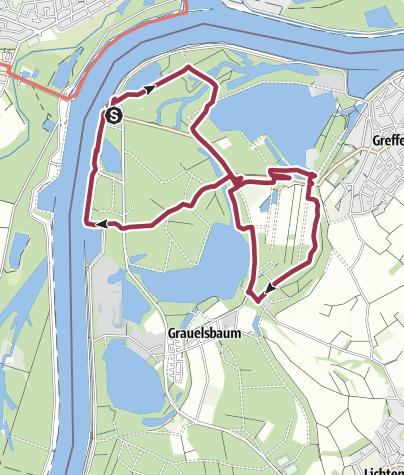 Map / Greffern