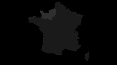 Carte / Normandie