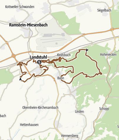 Karte / Landstuhl Tour 6