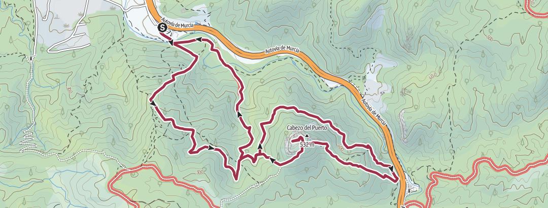Térkép / CASTILLO DE LA ASOMADA