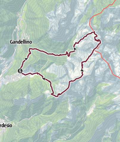 Kartta / Val Codera-Timogno