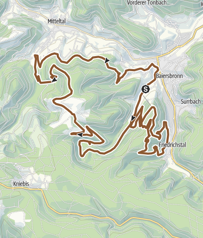 Map / T1 Stöckerkopf-Tour