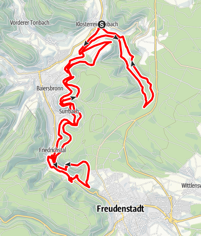 Map / T6 Hirschkopf Trailtour