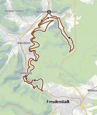 Karte / T6 Hirschkopf Trailtour