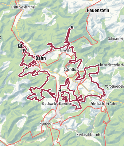 Karte / Pfälzerwald DT
