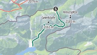 Map / Bergtour - Geierköpfe
